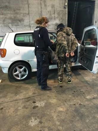 Fældet af usynlig DNA-spray: Her bliver to kabeltyve anholdt
