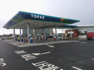Irish First: Topaz Trials DNA Spray To Protect Service Stations