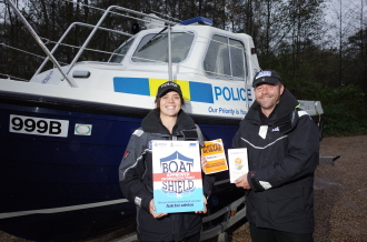 Marine Theft Initiative Launches On The Broads