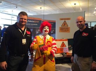 McDonalds Secures Restaurants With DNA Spray In Denmark