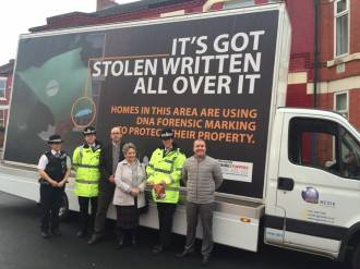 Merseyside Police Deliver 'Stay Safe At Christmas' Message