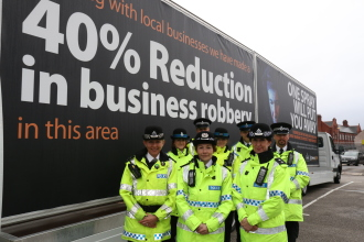 Merseyside Police Protect Shops On Run Up To Christmas