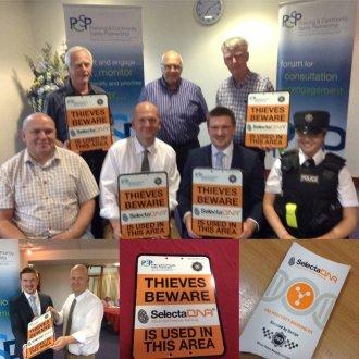 PSNI Anti-Burglary Scheme Launches in 9 Neighbourhood Watch Areas
