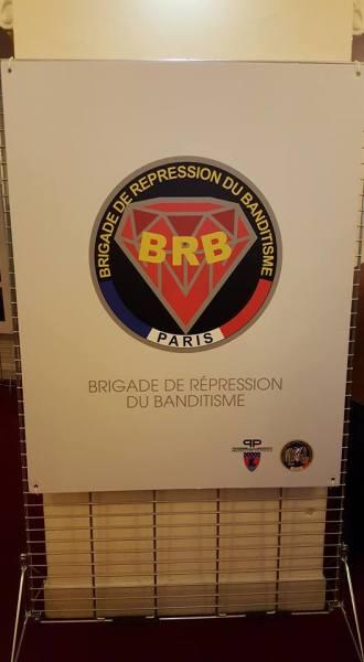 SelectaDNA au 40 ans de la Brigade de répression du banditisme. (BRB).