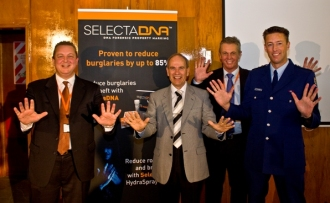 SelectaDNA reduces burglaries by 61%