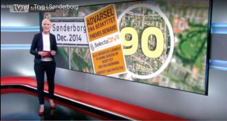 Tryg Forsikrings DNA forebyggelses projekt i Sønderborg gav 54% færre indbrug, politiet er tilfredse.