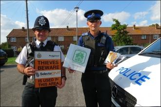 'Anti-Burglary Zone' Created In DNA Crime Crackdown