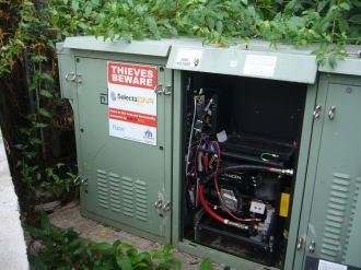 Battery Theft Runs Out