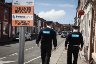 Forensic Spray Tackles Burglaries In Merseyside