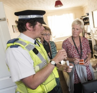 Housing Association In Joint Police Initiative Against Burglary