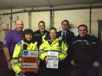 Rural Watch Gets Underway In Cheshire