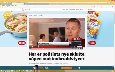 TV2 Nyhetene 1 september