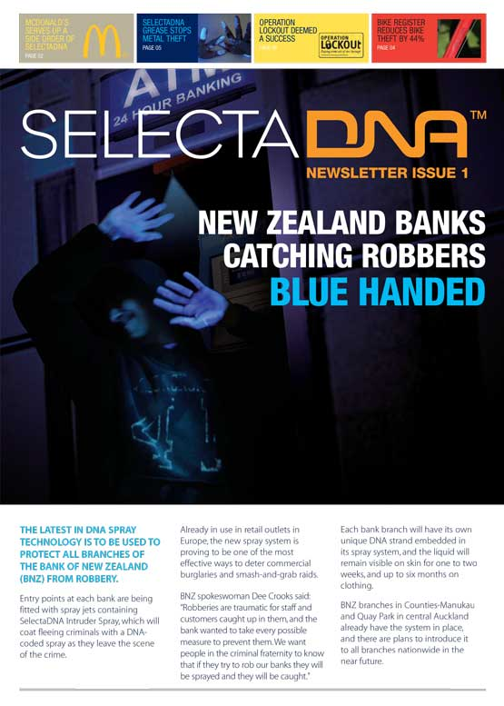SelectaDNA Newsletter Issue 1