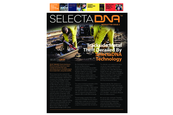 SelectaDNA Newsletter Issue 2