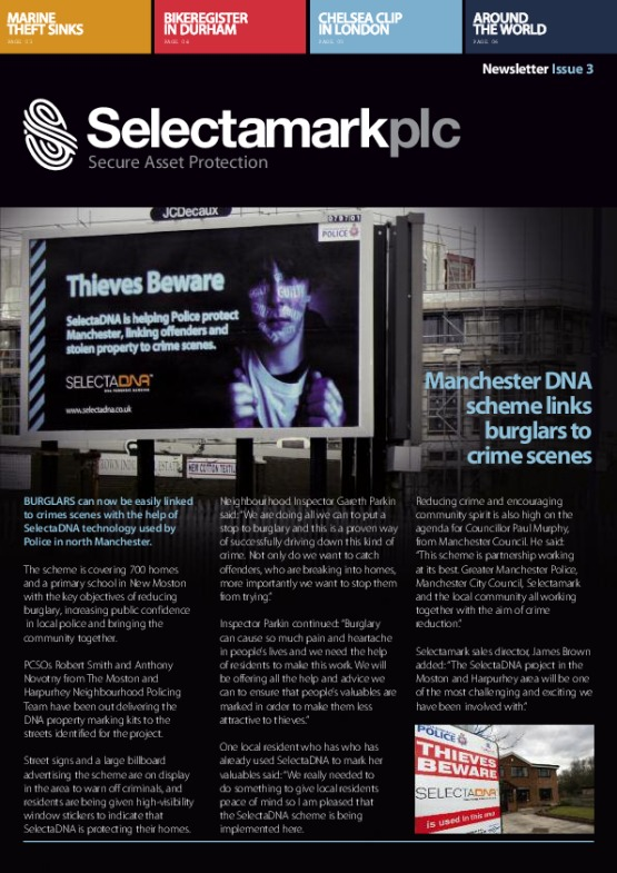 SelectaDNA Newsletter Issue 3