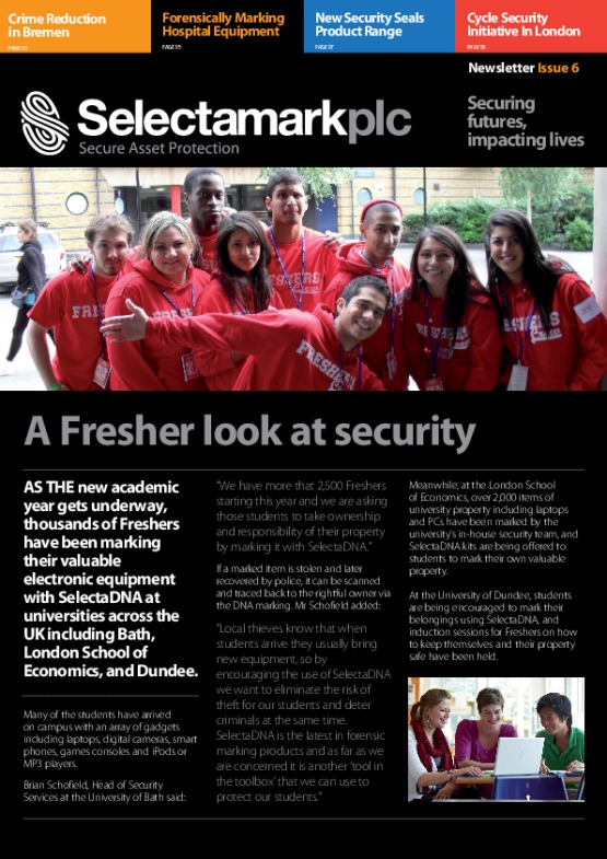 SelectaDNA Newsletter Issue 6