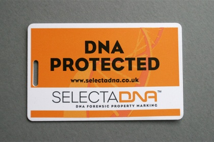 SelectaDNA Luggage tag
