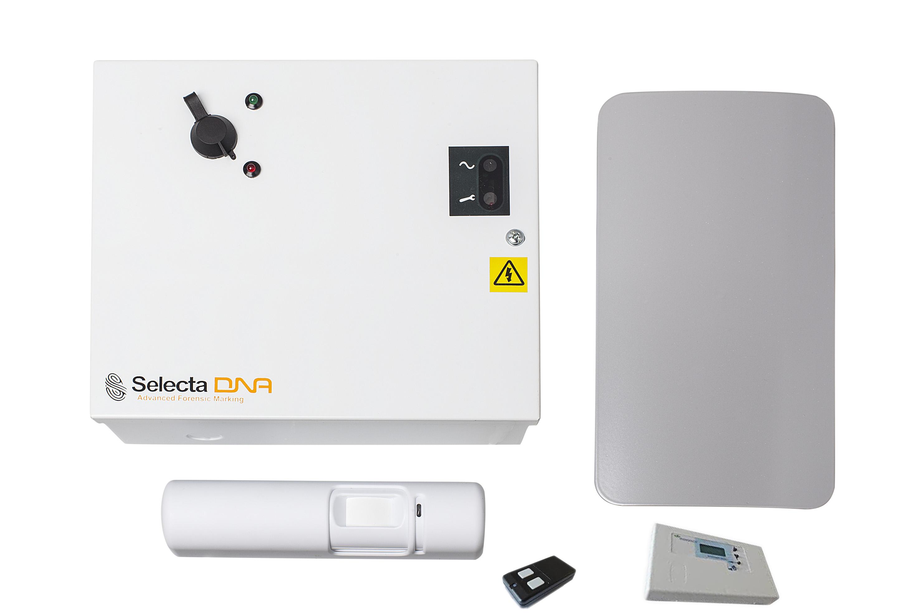 SelectaDNA Innbrudd og ransspray-komplett pakke