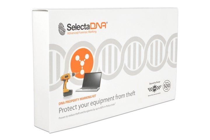 SelectaDNA Stöldskyddsmärkning för 100 föremål