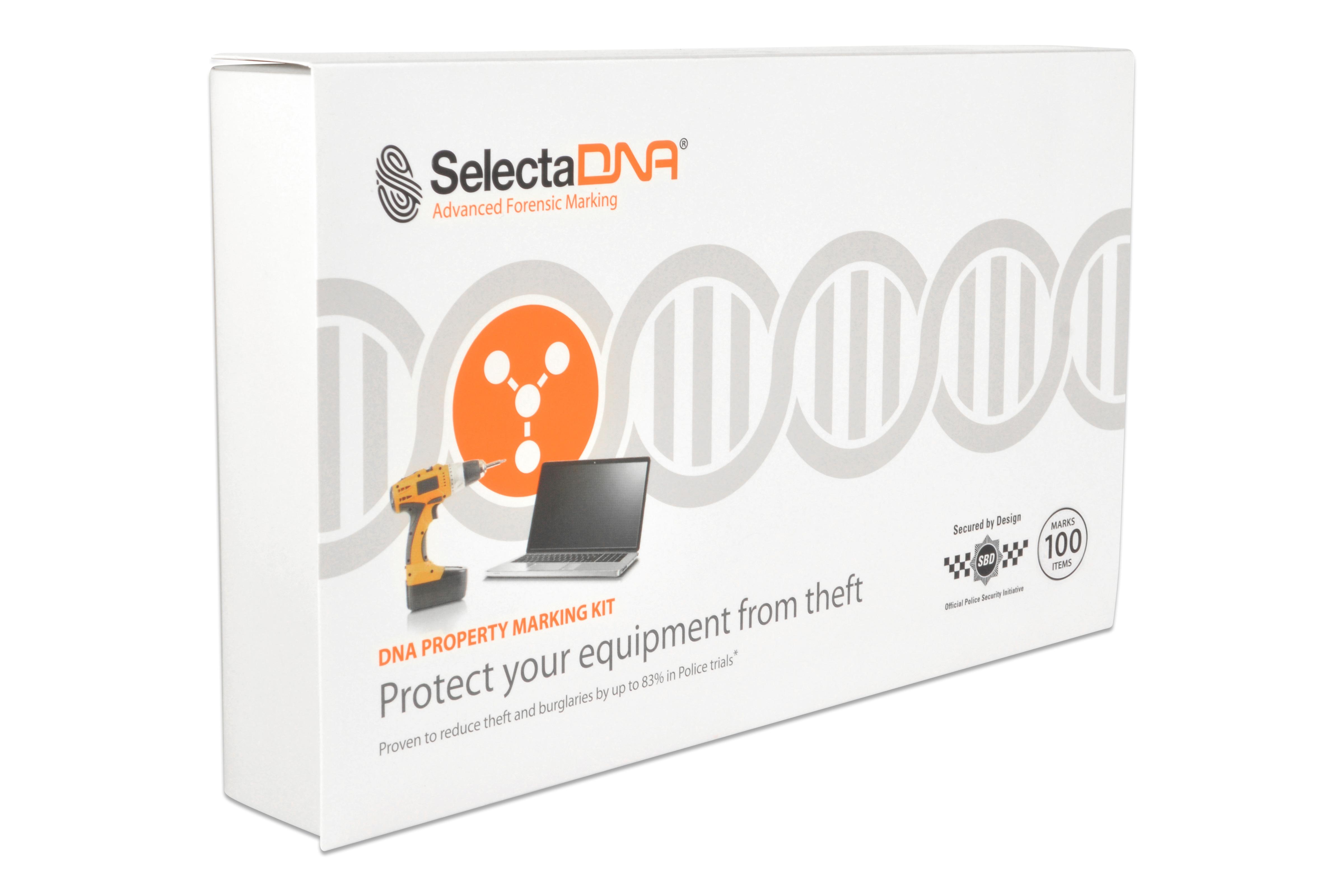 SelectaDNA Erhvervs Kit 100-mærkninger