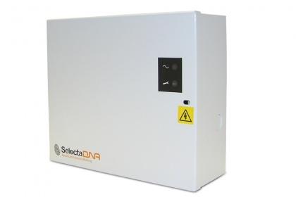 Caja de control para el Sistema de Spray de 2 cabezales