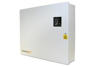Caja de control para el Sistema de Spray de 4 cabezales