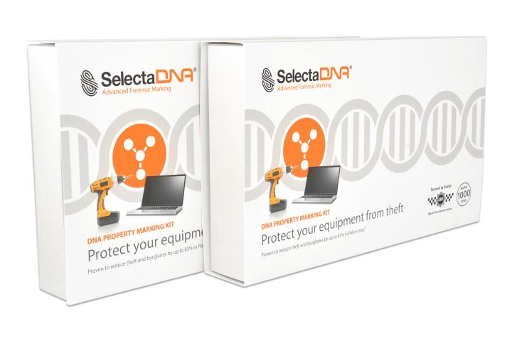 SelectaDNA Erhvervs Kit 1000-mærkninger