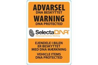 SelectaDNA personbil/Varevogn Sikringsmærke thumbnail