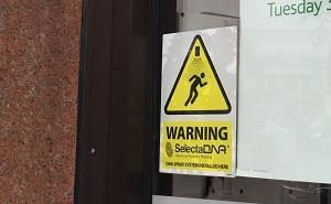 SelectaDNA Spray Warning Sign (Window) thumbnail