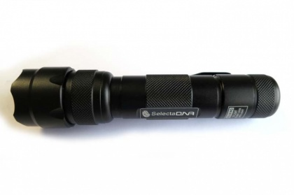 UV Handheld Torch With Clip 395nm thumbnail
