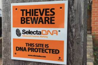 SelectaDNA Warning Plaque thumbnail